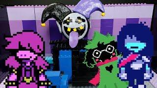 Lego Deltarune Jevil Boss Battle (The World Revolving) Animation