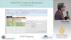 Chip Allee (CeuticalSoft): ChemAxon Partner Session - Compound Registration using JChem for Excel