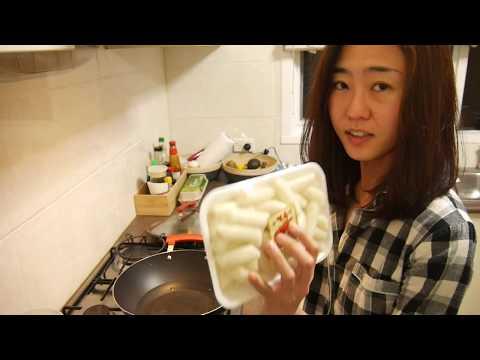 Tteok bokki  - 30 mins Korean Spicy Rice Cake