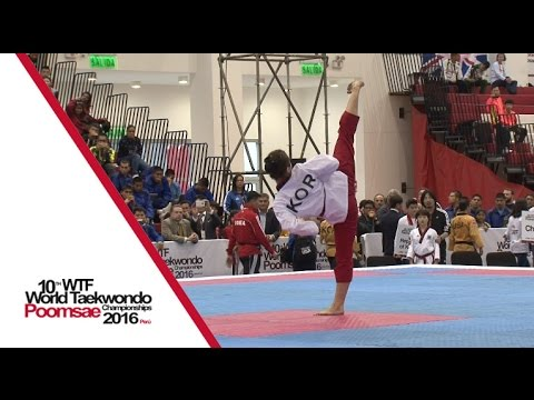 Cadet Individual Female Final | Huiyue ZHANG (CHN) vs Yu-ha KIM (KOR)
