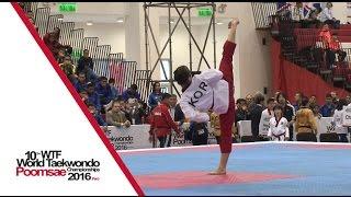 Cadet Individual Female Final | Huiyue ZHANG (CHN) vs Yu-ha KIM (KOR)
