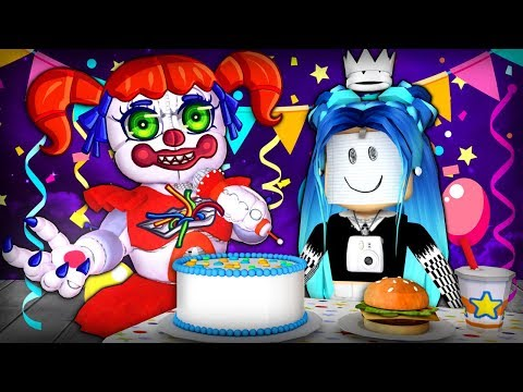 Is anyone coming to my Roblox Birthday Party...? Roblox Scary Stories!