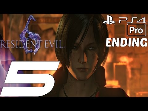 download Resident Evil 6 (PS4) - Gameplay Walkthrough Part 5 - Final Boss & Ending (Ada) [1080P 60FPS]