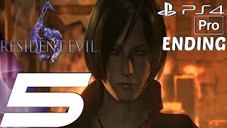 Repeat youtube video Resident Evil 6 (PS4) - Gameplay Walkthrough Part 5 - Final Boss & Ending (Ada) [1080P 60FPS]