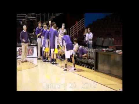"Wood County Christian School vs: Ohio Valley Christian School Basketball at The ""Q"".wmv"
