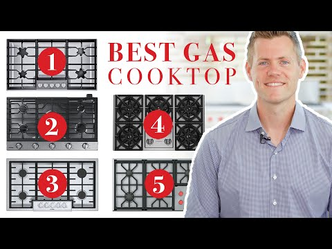 Gas Cooktop - Top 5 Best Models