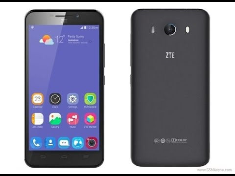ZTE Grand S3, The First Smartphone Android with The Iris Scanner
