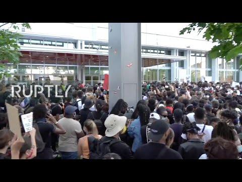 LIVE: 'Black Lives Matter' protesters hold demonstration in Paris