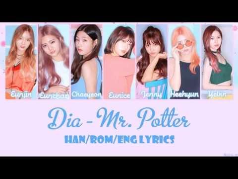 DIA - Mr. Potter [Han/Rom/Eng Lyrics]