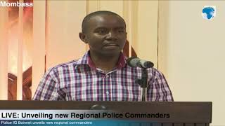 ICT CS Joe Mucheru gives plans on communication strategy for county police commanders