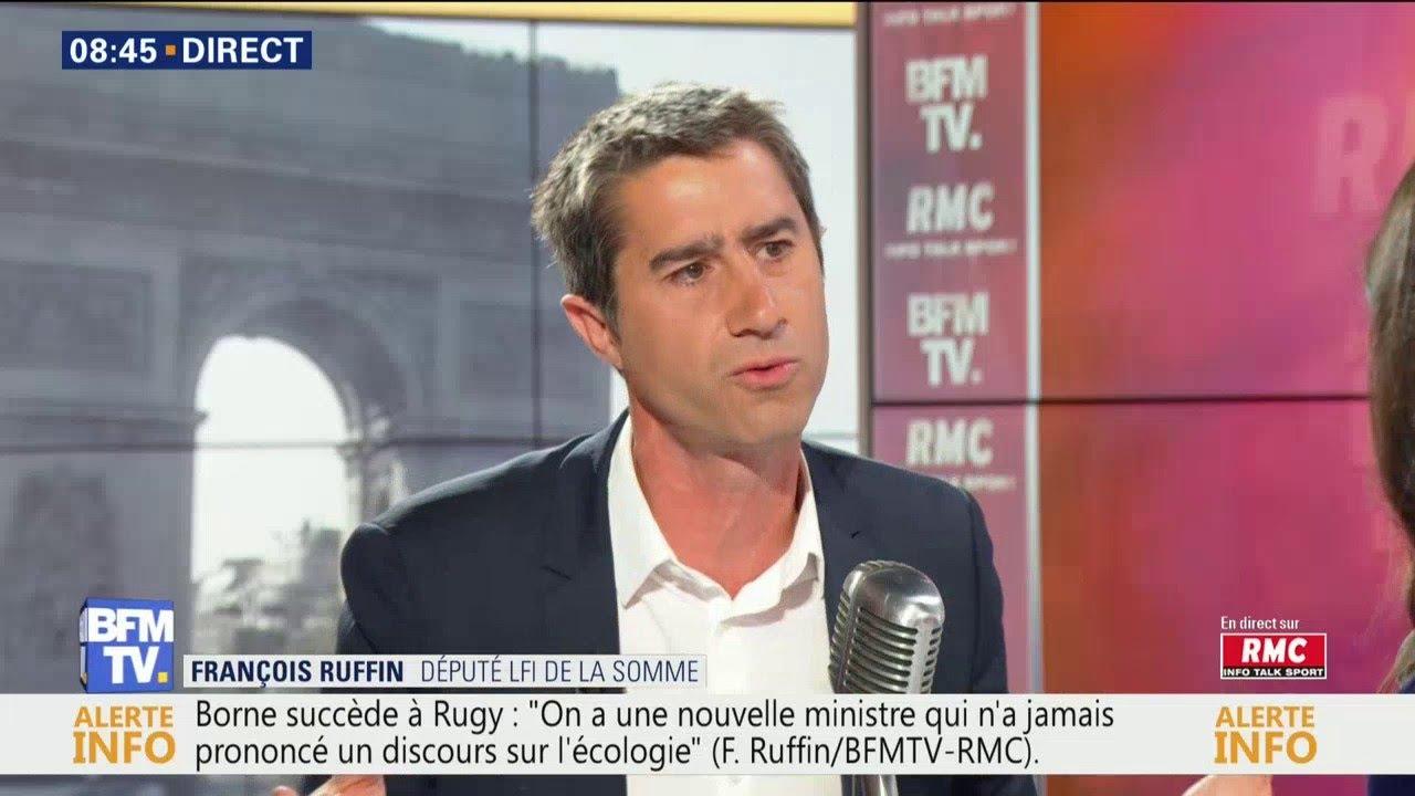 François Ruffin était dans Bourdin Direct sur RMC et BFMTV