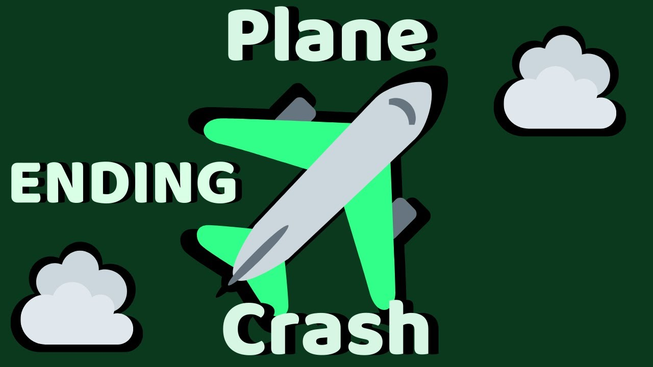 Roblox Airplane Story Endings - Roblox Plane Crash Ending