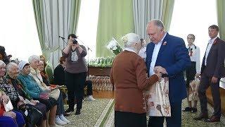 В администрации прошла церемония вручения памятных подарков ветеранам ВОВ и труженикам тыла