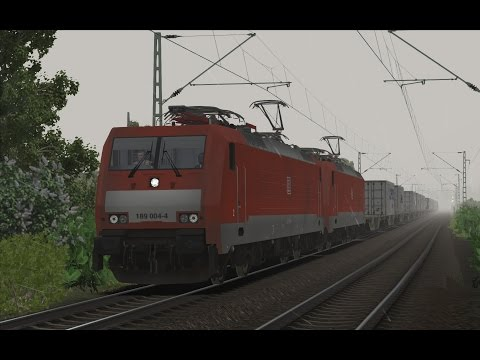 Freight from Trier to Dusseldorf v5.0 - Part 1 | BR189 004-4 | Train Simulator