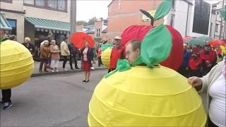 Udział SOSW w paradzie XL Skierniewickiego Święta Kwiatów Owoców i Warzyw