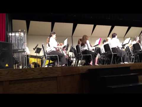 Star Wars - The force awakens by the Patapsco Middle School Wind Ensemble