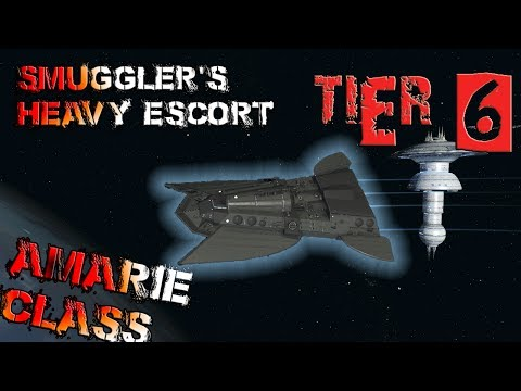 Amarie-class Smuggler's Heavy Escort [T6] – with all ship visuals - Star Trek Online