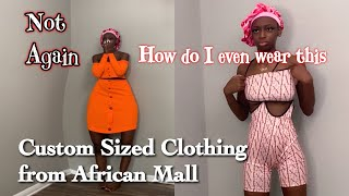 AFRICANMALL BACK FOR REVENGE| CLOTHING HAUL | Nicole TV