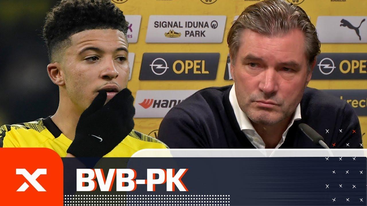 Michael Zorc erklärt: Jadon Sancho will keinen Wechsel forcieren | Borussia Dortmund | SPOX