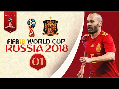 FIFA 18 World Cup - SPAIN AT RUSSIA 2018 - GROUP STAGE!! [Legendary With Sliders]