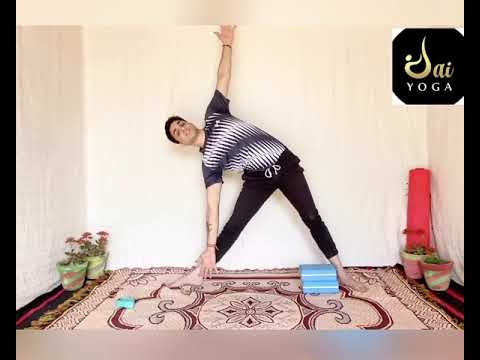 15 minutes beginner standing yoga pose with / master jai