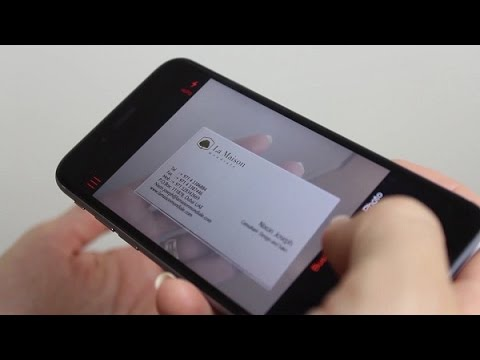 Digitize Business Cards - OneNote