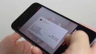 Digitize Business Cards - OneNote screenshot 2
