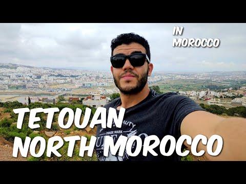 tetouan  in Morocco, north Morocco,  tetouan ,border of Spain