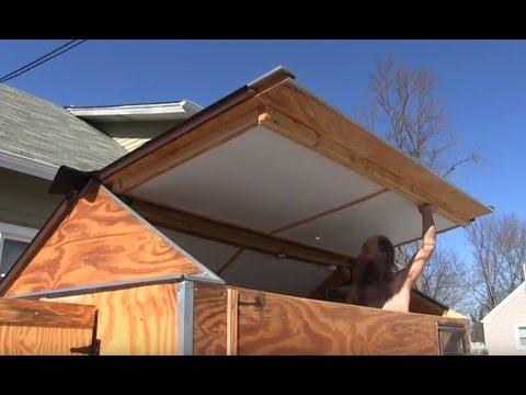 Tiny House Nj >> Tour of Tiny House Nomad Style Homemade RV Camper Trailer - YouTube