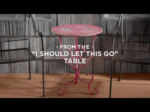How To Give an Old Metal Table a New Look with Stops Rust Spray Paint