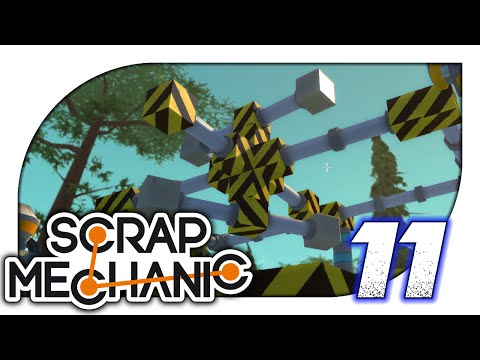 Scrap Mechanic - 11. Gyroscope Stabilisation - Let