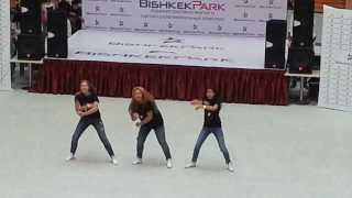 "1.08 Dance Crew in Bishkek Park ""Global Village"""