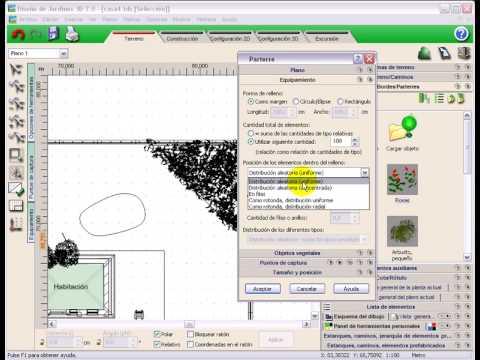 Dise o jardines 3d 7 0 tutorial video 2 crear un - Diseno jardines 3d ...