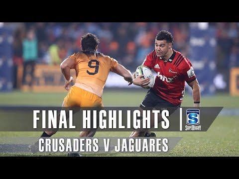 FINAL HIGHLIGHTS: Crusaders v Jaguares