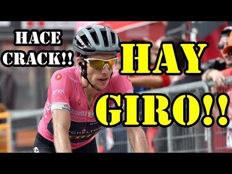 HAY GIRO!! YATES SE HUNDE / DUMOULIN RECORTA 28s/ ETAPA 18 GIRO DE ITALIA 2018