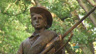 Confederate Monument Toppled In North Carolina