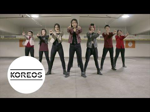 Koreos EXO 엑소  LOTTO Louder Dance