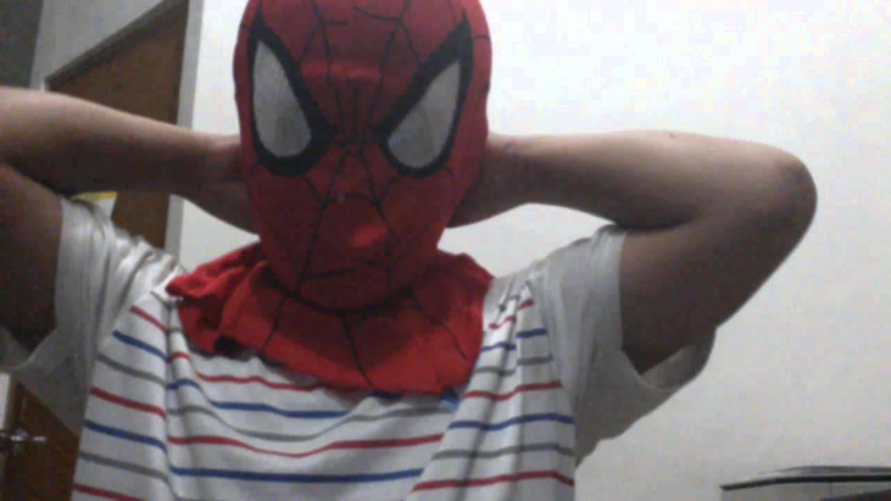 Topeng Spiderman Youtube Super Hero