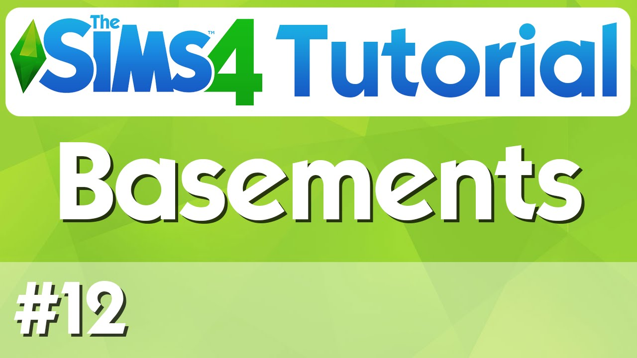 the sims 4 tutorial 12 basements youtube rh youtube com