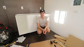 Tiny House Ikea Kitchen... Day 1