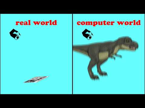 How Augmented Reality Works in the realLive T. Rex App!
