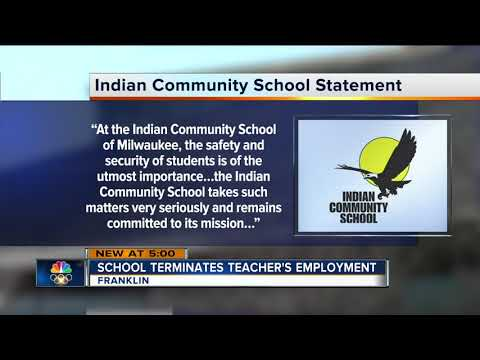Indian Community School teacher fired after physically moving student
