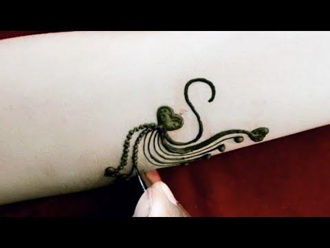 Stylish  gorgeous  A ,Sand T tattoos  designs  Trending henna tattoo mehndi designs
