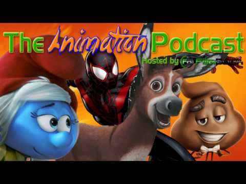 Sony Updates SMURFS, EMOJI MOVIE, SPIDER-MAN & More - The Animation Podcast HIGHLIGHTS