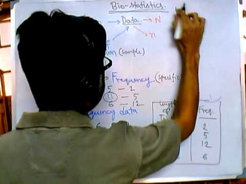 1  Biostatistics introduction