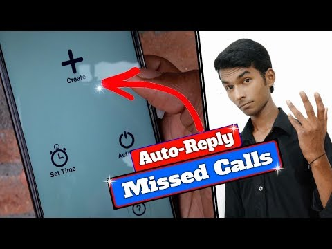 Auto Reply Missed Calls | Best Android Application- 2018 🔥By Vip Gyan