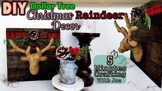 5 MINUTES CRAFTING No. 15 | FARMHOUSE CHRISTMAS DECOR | DOLLAR TREE DIY