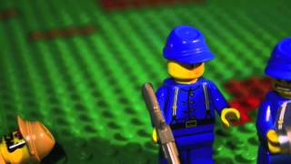 Blue and Gray: An American Civil War Brickfilm Part 2