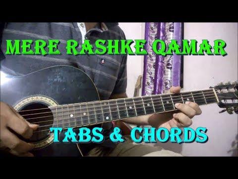 Mere Rashke Qamar - Easy Guitar Tabs Lesson | Baadshaho