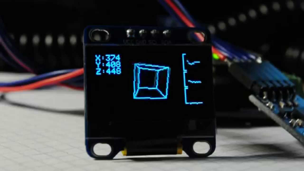 Arduino oled display d graphic pong mandelbrot